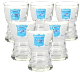 Lot 6 verres Barista Fair Trade Turquoise 12cl - Durobor