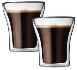 2 verres BODUM ASSAM 20cl