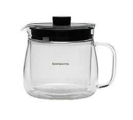 Carafe verre double paroi 5 tasses pour cafetière Bonavita