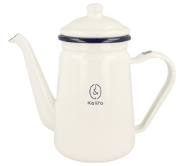 Kalita enamel kettle for all heat sources except induction - 1L capacity