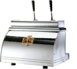 Machine expresso Pro à levier Victoria Arduino Athena Leva chrome 2 groupes