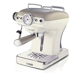 Machine expresso Ariete Vintage Beige + offre cadeaux