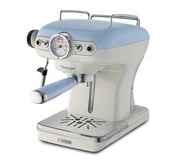 Machine expresso Ariete Vintage Bleue + offre cadeaux