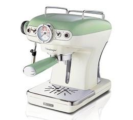 Machine expresso Ariete Vintage Verte + offre cadeaux