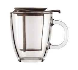 Mug infuseur Yo-Yo Set Colors Marron - 35cl
