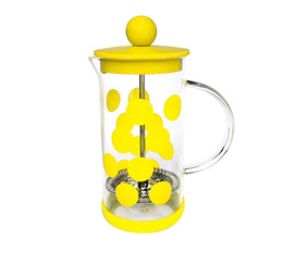Cafetière à piston DOT DOT jaune 3 tasses - 35 cl - Zak!Designs