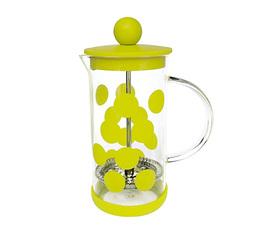 Cafetière à piston Zak!Designs DOT DOT verte citron 3 tasses