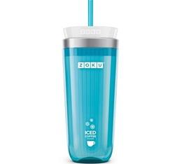 Zoku Iced Coffee Maker ZK121-TL Bleu Turquoise pour café et thé glacé
