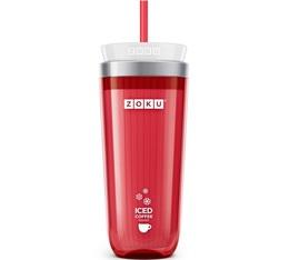 Zoku Iced Coffee Maker ZK121-RD Rouge pour café et thé glacé