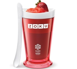 Zoku Slush & Shake Maker rouge - coupe réfrigérante express