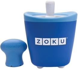 Sorbetière Zoku Pop Maker à esquimaux instantanée bleu