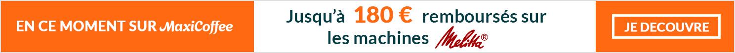 Remboursement sur machines automatiques  et broyeurs à café Bosch