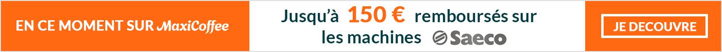 Remboursement sur machines automatiques  et broyeurs à café Saeco