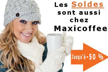 soldes 2010 chez maxicoffee, nombreuses remises, jusqu'à -50%
