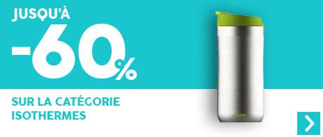 -60% sur les contenants isothermes