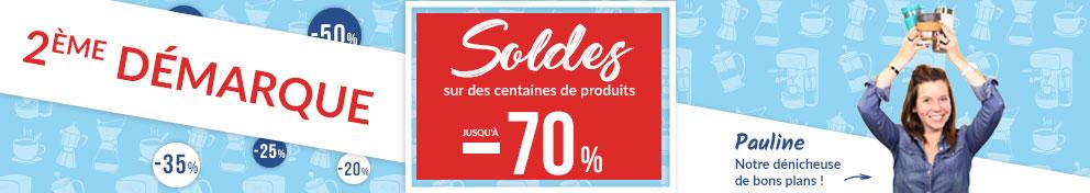 Soldes Hiver MaxiCoffee - 2ème démarque : jusqu'à -70% sur des centaines de produits !