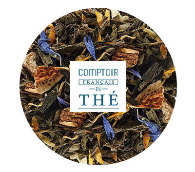 Grand Earl Grey Sencha thé CFDT