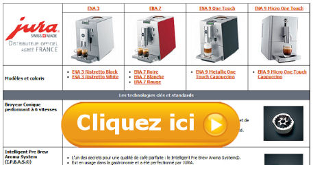 Test comparatif jura ena bien choisir sa machine caf for Choisir sa machine a cafe