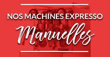 Machines expresso manuelles