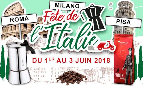 Fête de l'Italie - du 1er au 3 juin 2018
