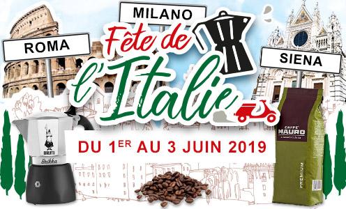 Fête de l'Italie - du 1er au 3 juin 2019