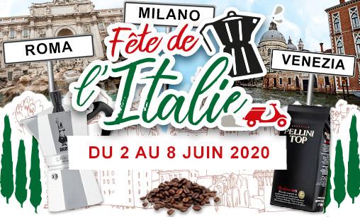 Fête de l'Italie - du 2 au 8 juin 2020