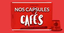 Capsules cafés