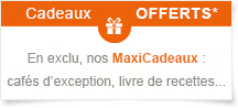offre cadeaux exclusive maxicoffee