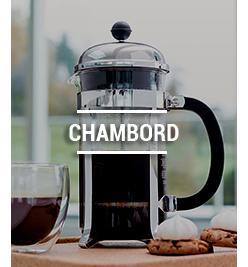 Cafetières à piston Chambord