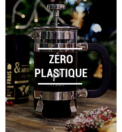 Cafetières à piston zero plastique