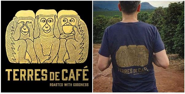 café grains terres de café