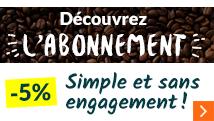 abonnement café