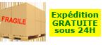 Livraison de votre machine expresso sous 24H par transporteur priv�