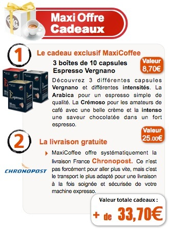 Machine à capsules Tre