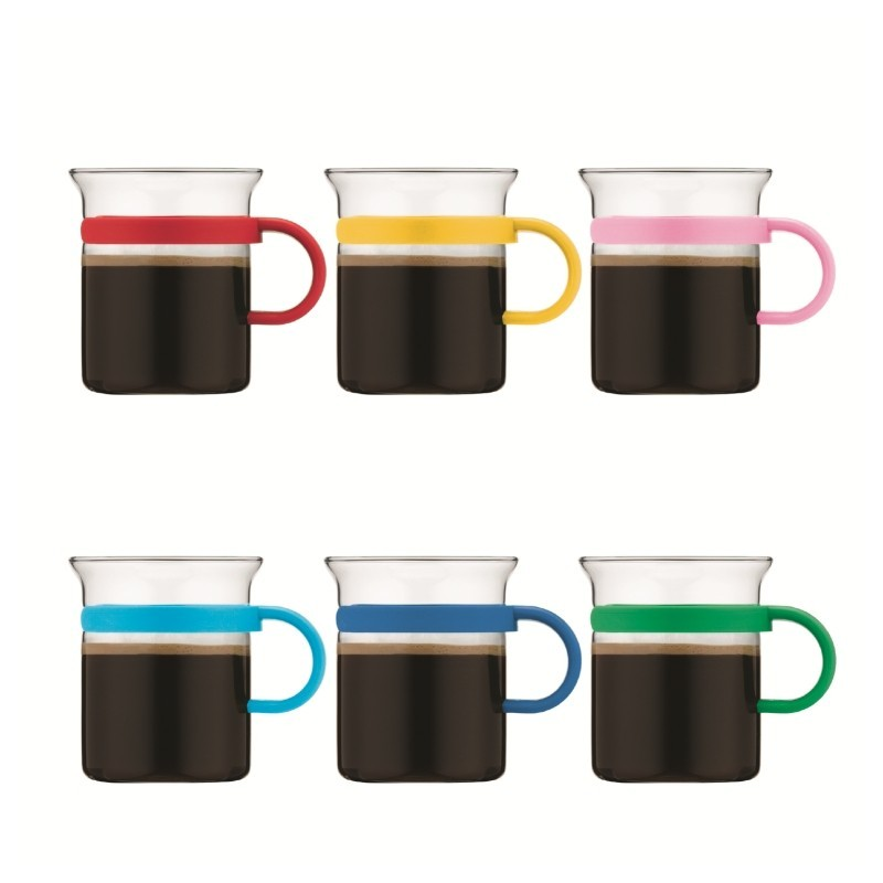 bodum arbre mug 6 mugs 20 cl bodum colors. Black Bedroom Furniture Sets. Home Design Ideas